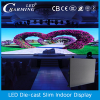new product high transparent Energy saving blue film color led video display
