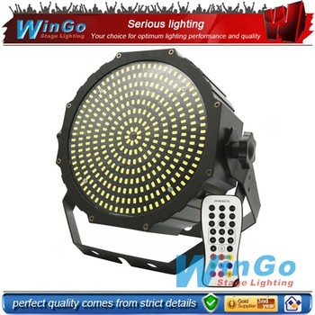 2016 new! infrared ray strobe flat par / wihte led flat strobe par / led flat par strobe light