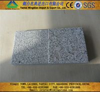 Natural Good Quality Silver Grey Granite Flamed Finish
