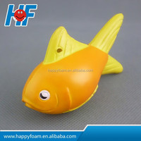 promotional cheap gifts fish pu toy