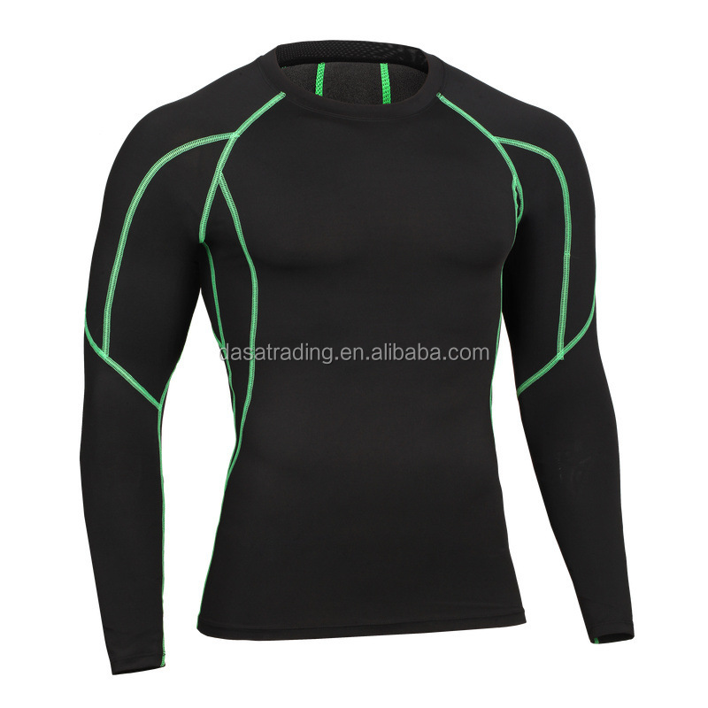 DS-ST048 88% Polyester <strong>12</strong>% Spandex Men's Sports <strong>T</strong>-<strong>shirts</strong> Basketball Running Quick Dry GYM Long Sleeve Fitness Wear <strong>T</strong>-<strong>shirts</strong>