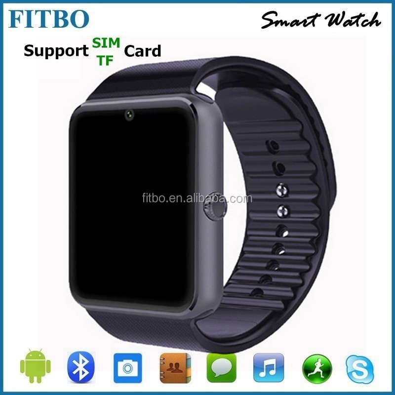 Bluetooth 4.0 Caller ID SIM TF kids cell phone watch oem for OPPO R7 Plus