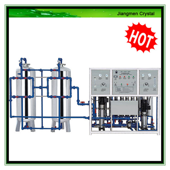 1000L/H reverse osmosis water purification system treatment machine for drinking well water