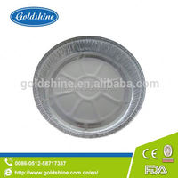Goldshine aluminum foil Round tray Y4510 disposable container for food packaging