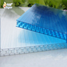 UV protection high impact strength best price cellular polycarbonate