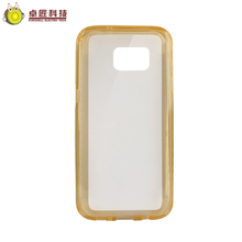 Clear view cover for samsung galaxy s7 edge,for samsung galaxy s7 edge case shockproof