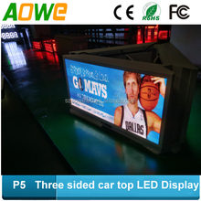 P5 outdoor led gas price led car window display, flexible led curtain display
