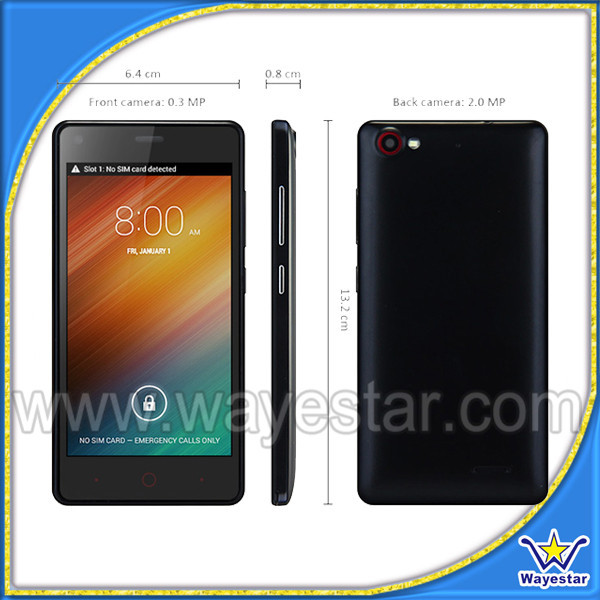 OEM 512MB Ram Very Cheap Price 3G Mobile Phones with Wifi