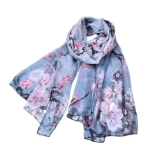 High printed quality hijab women fashion arabic square hijab cotton prayer shawl 2017 floral scarf large