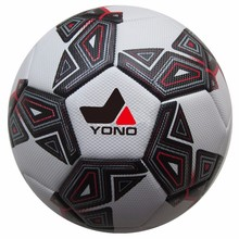 promotional football equipments and training laminated soccer ball calcio