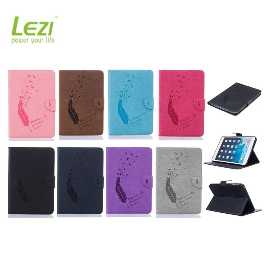 Tablet cover for ipad Case Smart Stand Wallet Flip Cover Tablet Leather Case for iPad mini 123