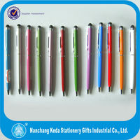 2 in 1 cheap pen smart phone slim stylish touch pen for blackberry playbook 2014