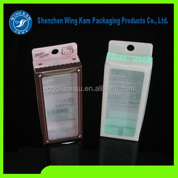 Universal Plastic Crystal PVC wholesale package Empty Packaging boxes Plastic box phone Case Cover