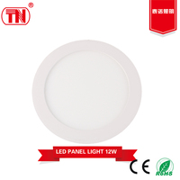 New type High Quailty 12W round panel led light
