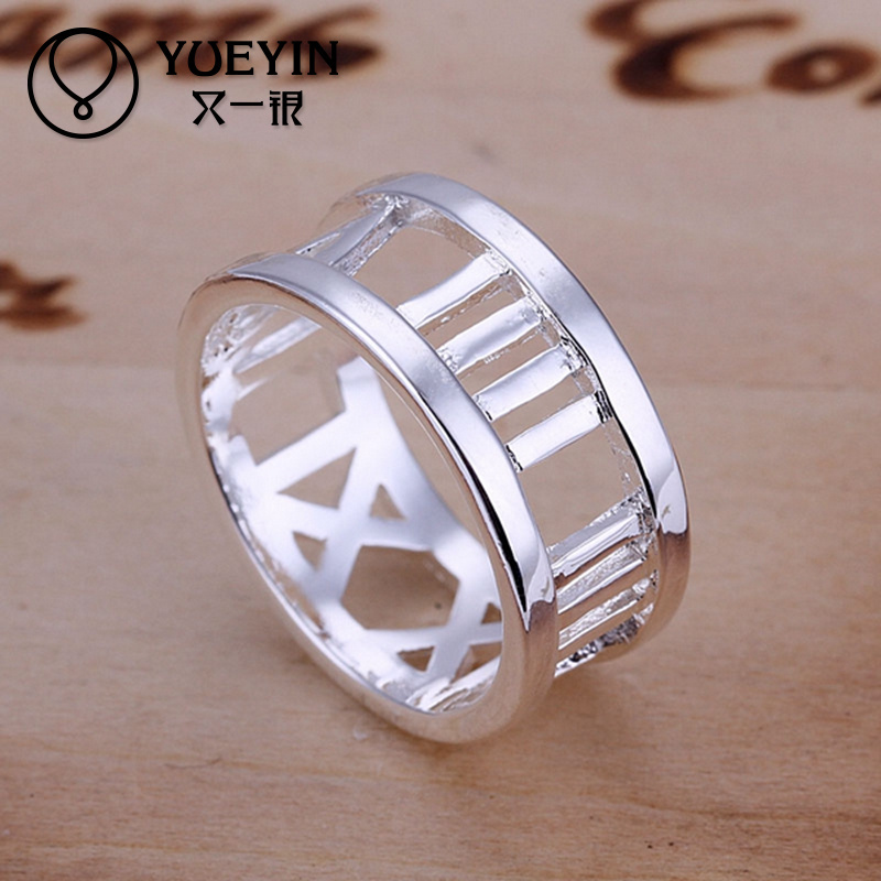 Wholesale Value 925 sterling silver ring,diamond silver ring