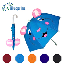 Cheap Nice Animal Cartoon Promotional Kids Umbrella In Ear Design
