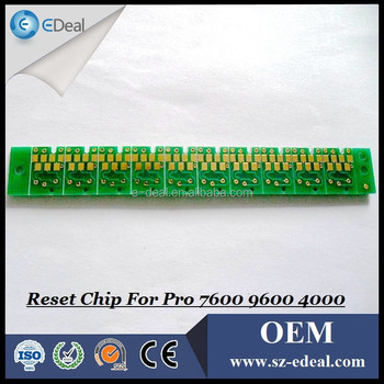 T5441-T5448 auto reset chip for Epson 7600 9600 4000 ink cartridge