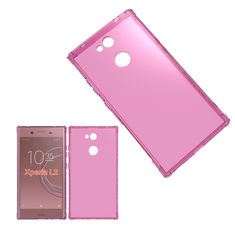 Anti-fingerprint Shockproof Edge Design Soft TPU Cover Case For Sony Xperia <strong>L2</strong>