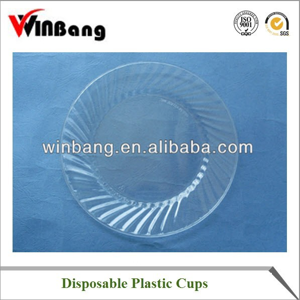 Clear Plastic Plate