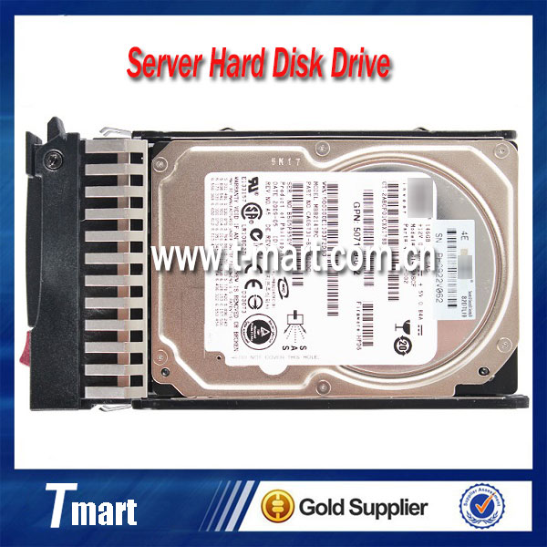 100% working server hard disk for HP 507125-B21 507283-001 146GB SAS 10K 2.5 inch server Hard Disk Drive