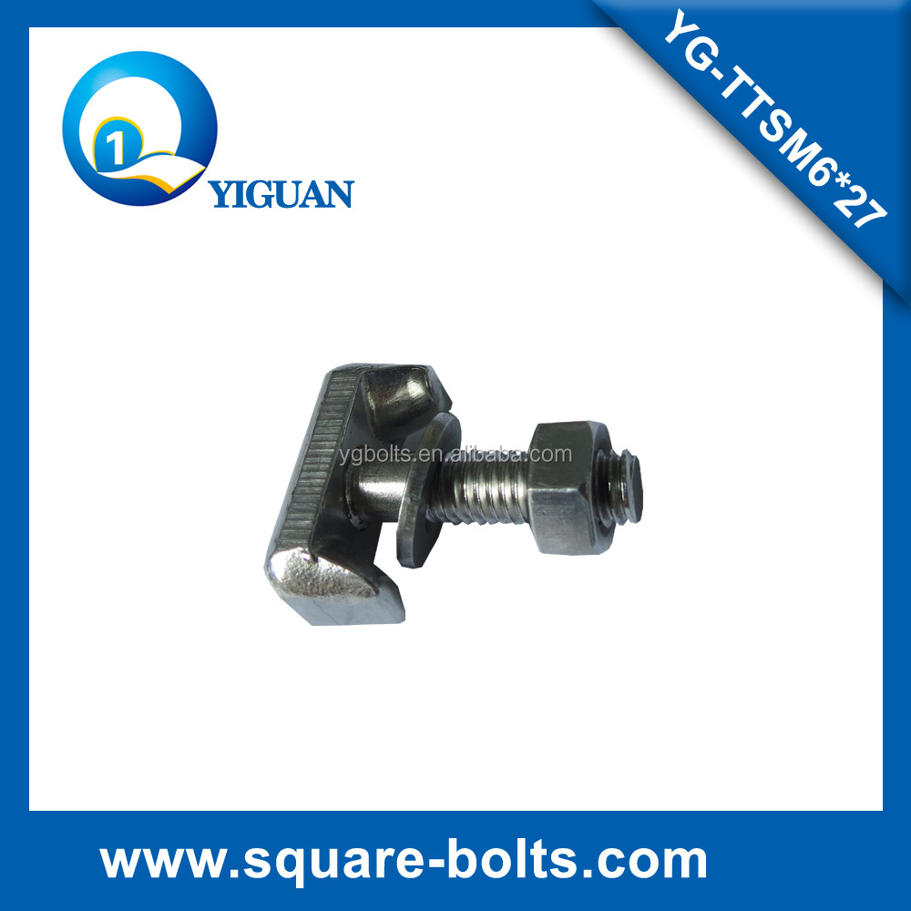 hammer head bolts with stainless steel material A2-70