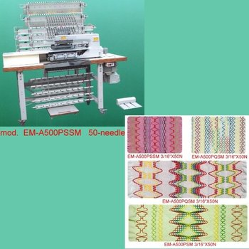multi needle sewing machine