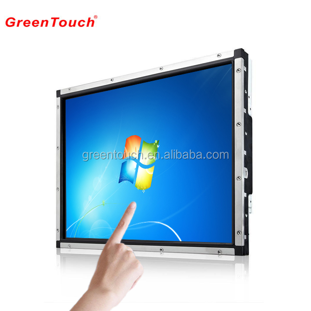 17inch touch screen monitor card dispenser touch monitor ticketing <strong>payment</strong> kiosk