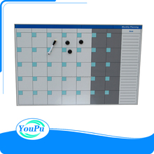 Stationery office supply dry erase magnetic monthly planning board