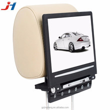 Guangzhou 10 inch remote control monitor with usb/sd card reader playing back seat tv for car