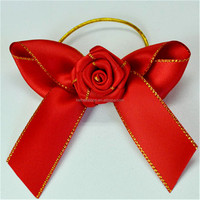 Customized classical fruit design hair ribbon bows