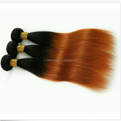 alli express 7A grade 8-30 inch brazilain two tone ombre hair weaves king virgin brazilian in california ombre hair extensions