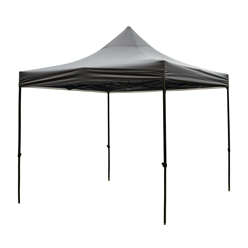 Large capacity modern high-grade fold 3*6m black PVC coated gazebo tent