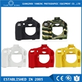 New released soft silicone case cover for dslr camera Canon 5DIII 5DRS 6D