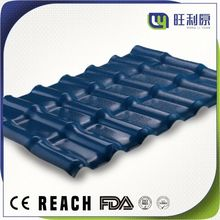 WLY Spanish synthetic resin roof tiles for roofing construction building materials