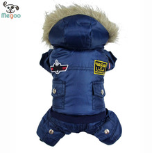 Winter Pet Dog Coats Thickening Pet Warm Jackets With Hood