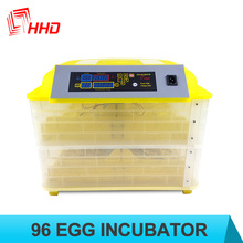 YZ-96 110-120 v/voltage 220-240 v 1 year warranty automatic egg incubator