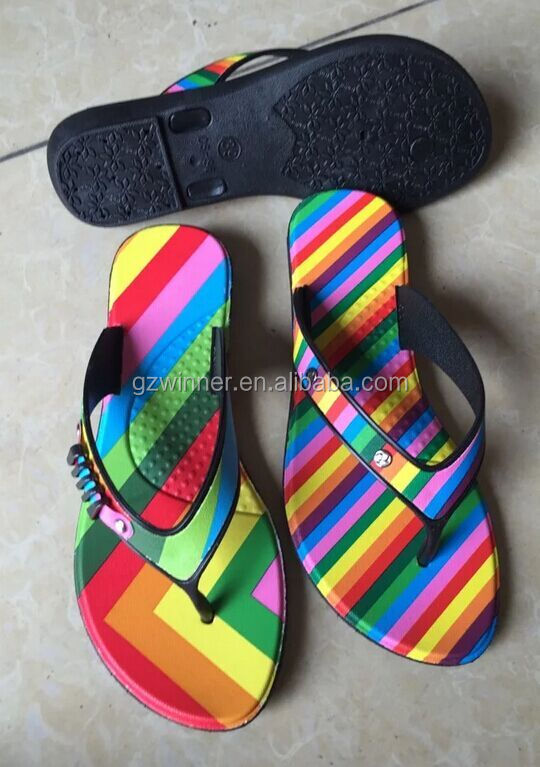 pvc flip flops ladies footwear pictures from china Q50