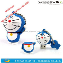 Doraemon USB flash drives 64MB 128MB 512MB 1GB 2GB 4GB 8GB 16GB 32GB USB 2.0 Cartoon USB Flash Drive