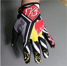 KINI Motocross Full Finger Gloves Motorcycle Guantes Bicycle MTB Gloves DH Dirt Mountain Bike Cycling glove Touch-Control Phone