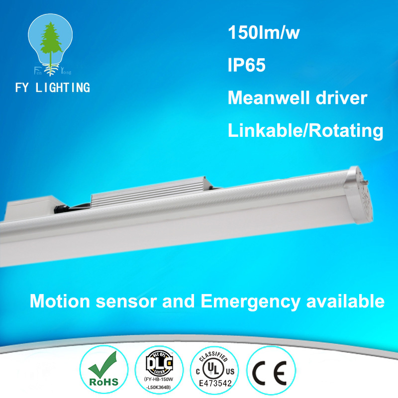 2016 alibaba hot sale explosion-proof light, motion sensor recessed ip65 tri proof led linear light
