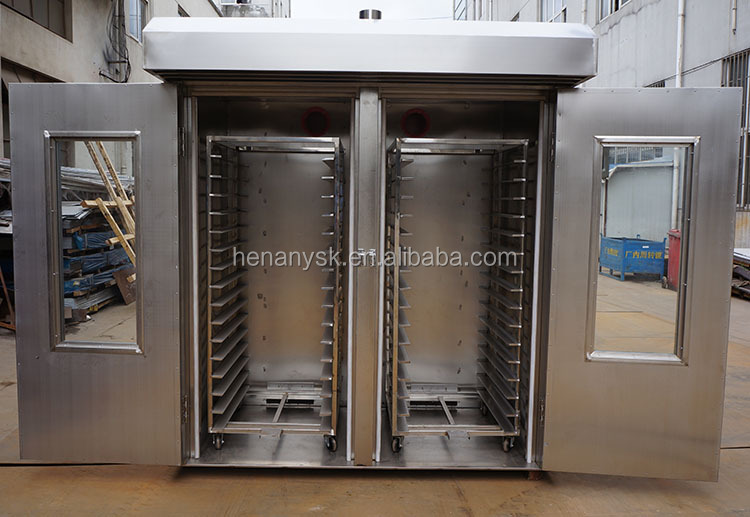 64 Trays Industrial Fruits Vegetable Drying Oven Dehydrator
