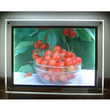 2016 New Christmas Real Estate Window Led Light Box/Led Light Pocket/Led Poster Frame Light Sign Display