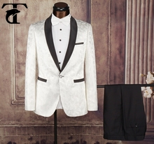 New Arrival Unique Satin Black Groom Tuxedo Notch Lapel One Button Formal Suits Wedding Groomsman Suit Prom/Evening Suits