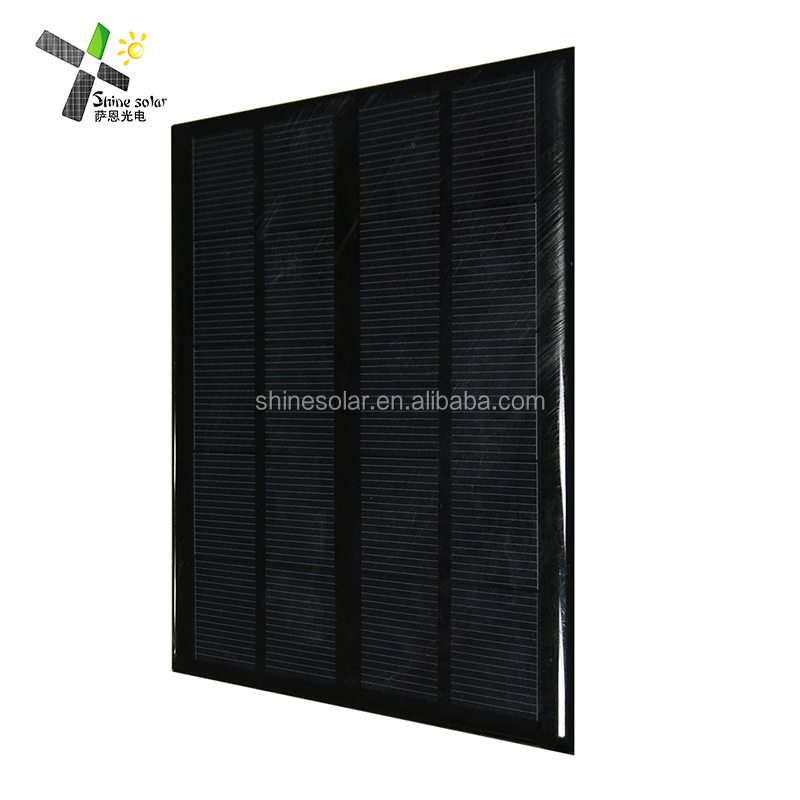 5v 9V 12v Small Solar Panel 3W Epoxy Encapsulated Solar Power 300mA Polycrystalline Silicon solare panels