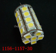 High Power 1156 1157 ba15s bay15d 30SMD 5050 back up turn day time running reverse light