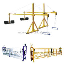 swing stage(Aluminum alloy type) gondola with wire rope