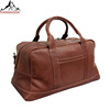 Fashion new design Leather duffel bag for weekender and outdoor