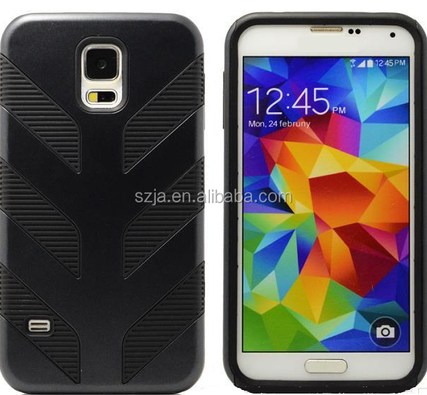Best Quality Mobile Phone Accessories Cover For samsung galaxy s5 i9600 Rocket Hybrid Cover Protector Case