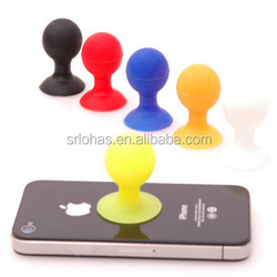 Cute silicone desktop cell phone holder