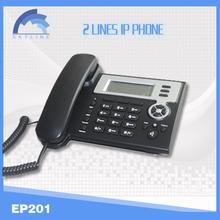 smart voip wifi sip phone EP201 with 2 lines suppor/ H323 wifi sip desk phone,3g desktop phone with wifi
